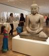 Buddha posing at the Art Institute