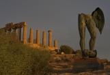 Agrigento, Temple of Juno, Mitoraj statue, 2011
