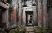Interior, Angkor Wat, Cambodia