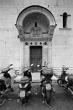 Safe parking, Lucca, 1995
