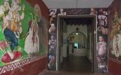 Tattoo parlor, Chenai, India