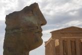 Temple of Concordia, Agrigento, Mitoraj, 2011